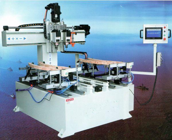 LTT-S 1500-2F Сверлильно-пазовальный станок с ЧПУ
