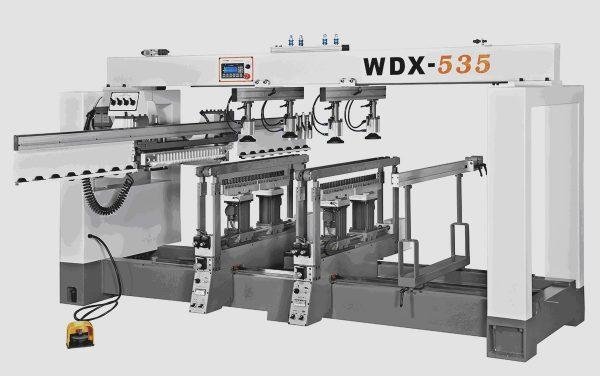 Сверлильно-присадочный станок WDX-535 (поворотные вертикальные траверсы)