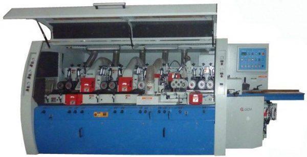 Станок четырехсторонний продольно-фрезерный 6-ти шпиндельный мод. QMB 626 H