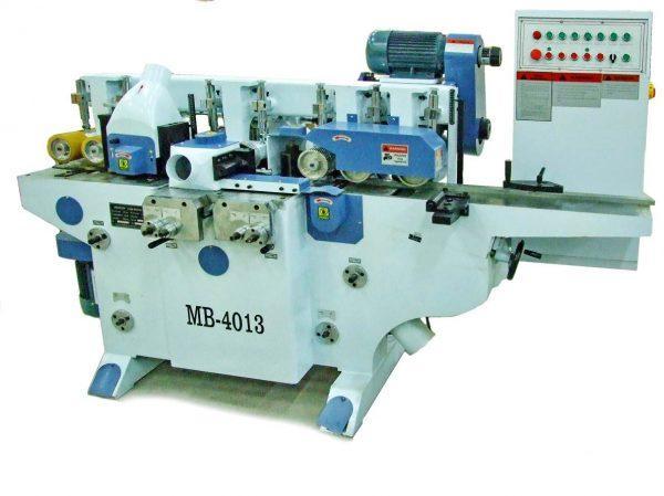 Четырёхсторонний 4-х шпиндельный станок мод. MB4013