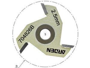 Сменные диски для фрез