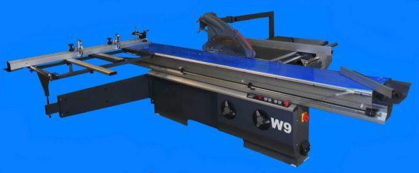 Форматно-раскроечный станок с роликовой кареткой и наклоном пилы W 9