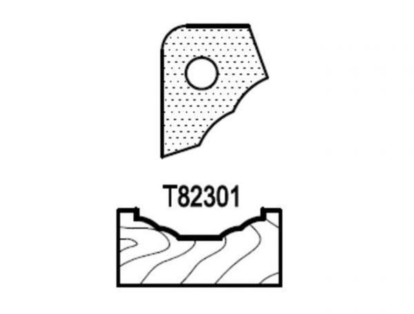 Нож профильный для фасадов (T82301) для 1473231212 Rotis 744.T82301