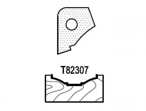 Нож профильный для фасадов (T82307) для 1473231212 Rotis 744.T82307