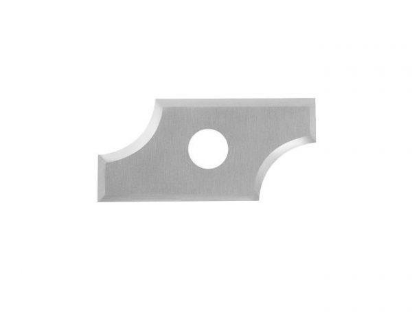 Нож твердосплавный радиусный R6.35 25x12x1.5 Tideway R635251215