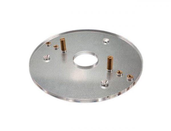 Кондуктор для центровки сверления на торце детали с магнитом B 100x56 Uniqtool UTD-0002