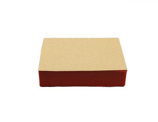 Шлифовальная губка прямоугольная 99x70x23 зерно 240 Uniqtool UTG-2002
